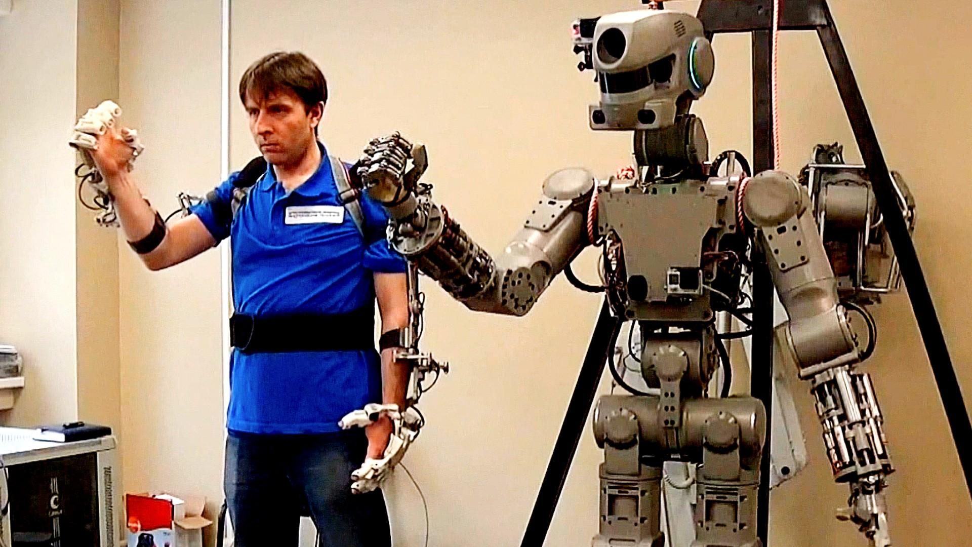 Image result for Russian humanoid robot 'Fedor' to travel space