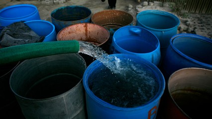In Mexico, water shortage makes hand-washing difficult thumbnail