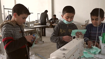 Extreme medical shortages in rebel-held Idlib city in Syria thumbnail