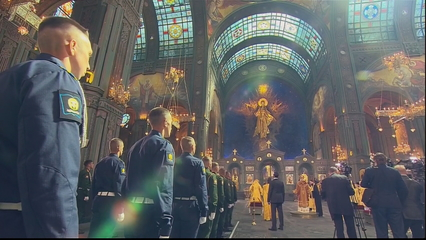 Russian church launches cathedral dedicated to armed forces thumbnail