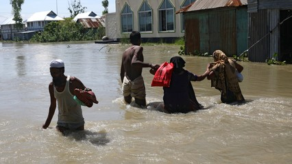 Nearly one-third of Bangladesh affected by monsoon floods thumbnail