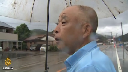 Deadly floods, landslides wreak havoc in southern Japan thumbnail