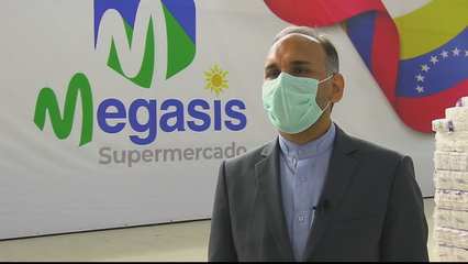 Iranian supermarket chain launches in Venezuelan capital thumbnail