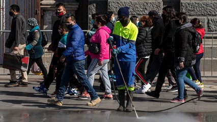 Santiago lockdown eases: Chile authorities fear COVID resurgence thumbnail