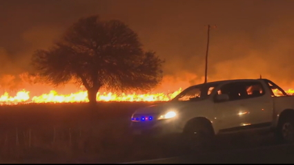 Argentina devastated by widespread wildfires thumbnail