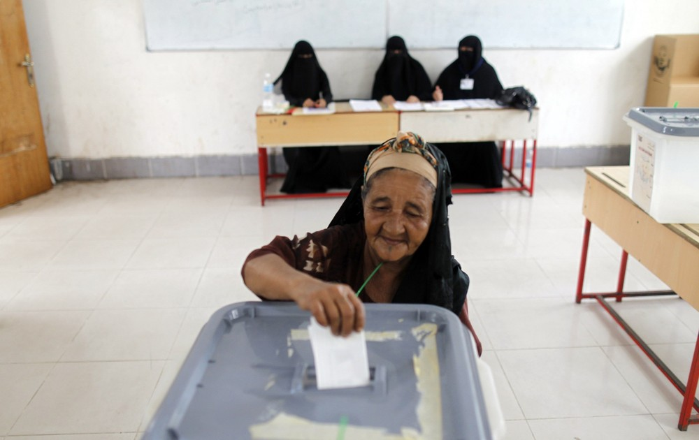Polling stations across Yemen have opened in a presidential poll marking the end to Ali Abdullah Saleh\(***)s 33-year rule, following a year of unrest which pushed the country to the brink of civil war.
