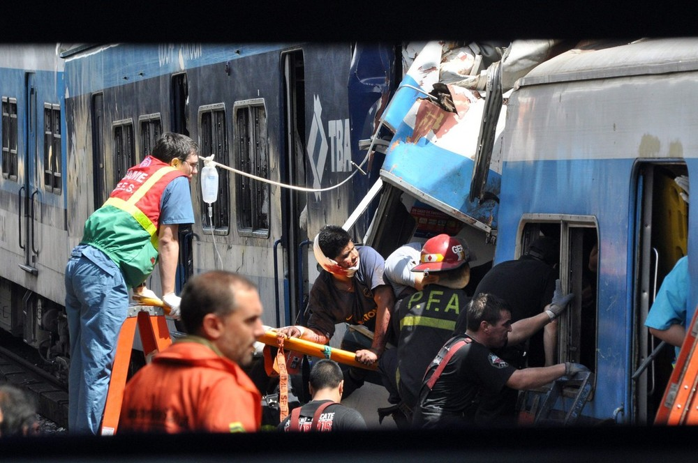 Scores of passengers were killed and hundreds of others injured after the commuter train rammed into a barrier at a Buenos Aires station.