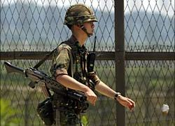Could North Korea be preparing for war behind this South Korean fence?