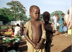 Children are tortured by Ugandan rebels say rights groups
