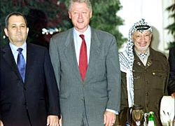 Palestinians and Israelis could not implement Oslo despite US mediation