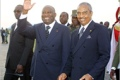 President Gbagbo (L) has vowed to restore his air force