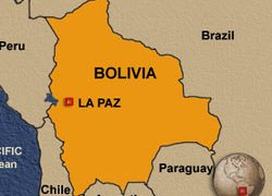 Bolivia's gas reserves are second only to Venezuela's in S America