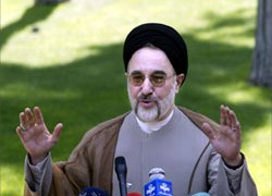 Khatami: Iran will resume some sensitive nuclear work