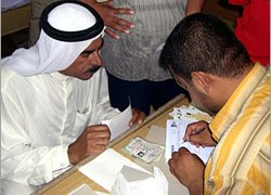 Sunnis are registering to vote in the October referendum