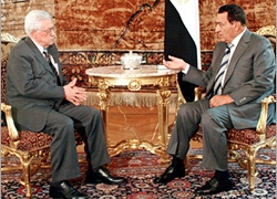 Abbas said Egypt would take part in talks on the Rafah crossing