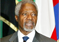 The UN's Annan is under pressure in a widening scandal