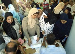 The polls were Egypt's first multi-party presidential election