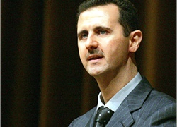 President al-Assad is under increasing international pressure
