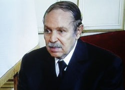 President Bouteflika underwent surgery for stomach bleeding
