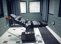 The execution took place just after 0700 GMT on Friday