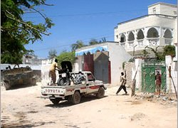 Ongoing fighting in Mogadishu has been the fiercest since 1992