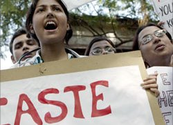 High caste Indians see new laws as a threat to ancient privileges