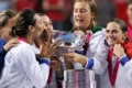 Bellissimo!: Italy celebrate their first Fed Cup win