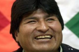 Evo morales says he wants to rectify wrongs committed against indigenous Bolviians