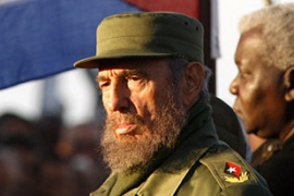 The jailed men say they are fierce opponents of Fidel Castro's communist government