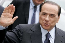 Berlusconi has kept a low profile since his election loss in April