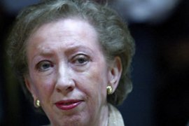 "Margaret Beckett told the British parliament that Basra could be handed over ""next spring"""