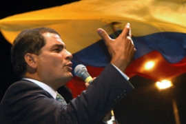 Correa has stated he is not part of the Venezuelan-Bolivarian movement