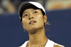 Li Na, 24, is a former badminton player and is the first Chinese woman to be ranked in the WTA top 20.
