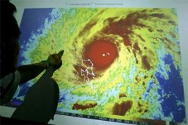 Forecasters have warned that Duriancould hit Manila on Friday