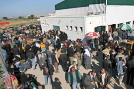 The Rafah border crossing is the only way in or out of the Gaza Strip which does not pass through Israel