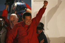"Chavez says he will start an era of ""new democracy"" in Venezuela."