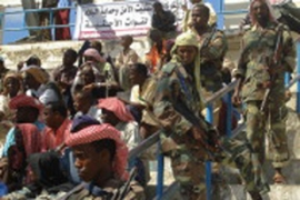 Islamic Courts fighters have taken control of thecapital Mogadishu and most of southern Somalia
