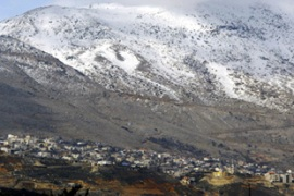 The Golan Heights were captured from Syria in the 1967 Arab-Israeli war [AP]