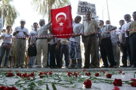 More than 60 people were killed in attacks by al-Qaeda in Turkey in November 2003