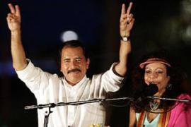 Ortega won a presidential election after 16 years in the opposition
