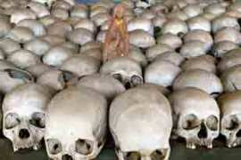 About 800,000 Rwandans were killed in 100 days during the 1994 genocide