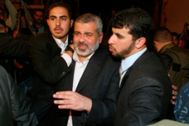 Haniya's bodyguard was killed in firing on Thursday as he was returning from a visit to Arab countries