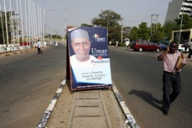 Yar'Adua is the favourite in the primaries