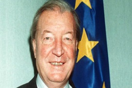 Charles Haughey pictured here as the Irish prime minister [AP]