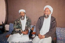 Al-Zawahiri, right, called for an investigation intocrimes by fighters in Iraq [EPA/FILE]