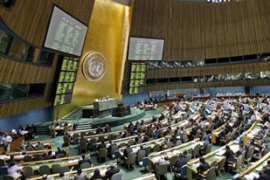 The UN says the convention is the first of its kind specifically aginst kidnapping [EPA]