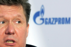 Alexei Millter, Gazprom's CEO, confirmed the agreement on Monday in Moscow[AFP]