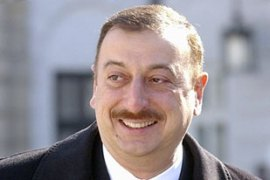 "Aliyev said Gazprom's demands were not in ""the spirit of relations between Russia and Azerbaijan"" [AP]"