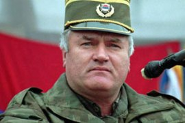 Ratko Mladic, like Karadzic, has been indicted for genocide [AP]