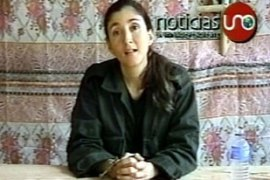 Ingrid Betancourt, former Colombian presidential candidate, is one of tha many high profile prisoners held by Farc [AP]